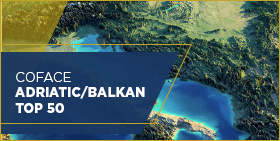 Coface Adriatic / Balkan Top 50 - 2019 Edition